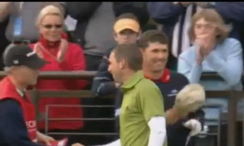 Sergio Garcia thua Padraig Harrington ở British Open 2007