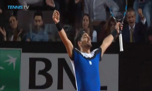 Fabio Fognini 2-0 Andy Murray