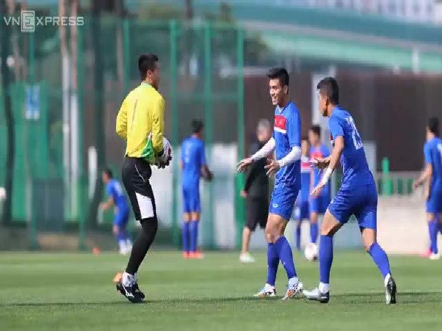 U20 Việt Nam luyện dứt điểm để đối đầu U20 Pháp
