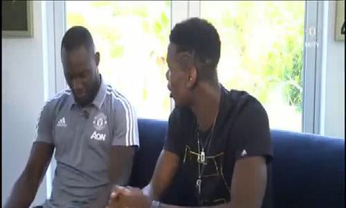 Pogba và Lukaku