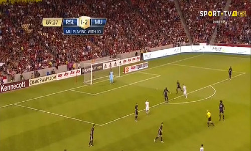 Real Salt Lake 1-2 Man Utd