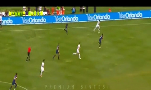 Roma 1-1 Paris Saint Germain (pen 3-5)