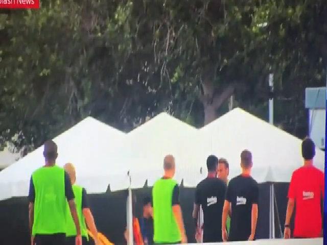 Neymar choảng nhau với đồng đội