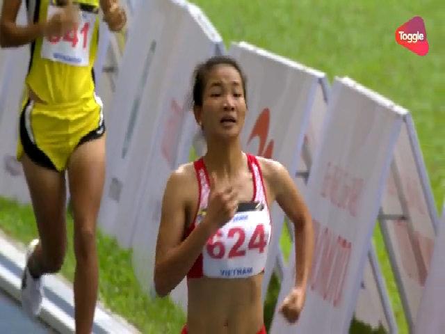 Nguyễn Thị Oanh về nhất 5000m