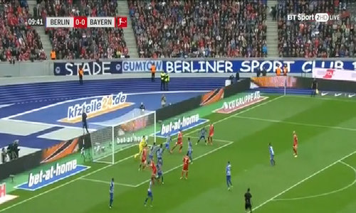 Hertha Berlin 2-2 Bayern Munich
