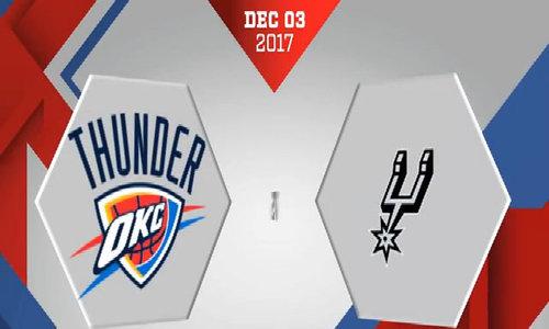 Antonio Spurs - Oklahoma City