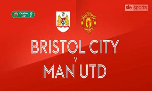 Bristol City 2-1 Man Utd