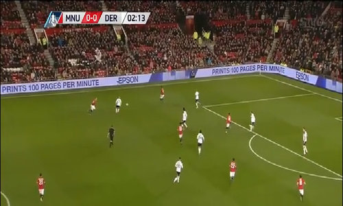 Man Utd 2 - 0 Derby County