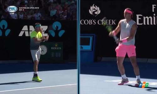 Nadal vượt qua bạn thân để vào vòng ba Australia Mở rộng