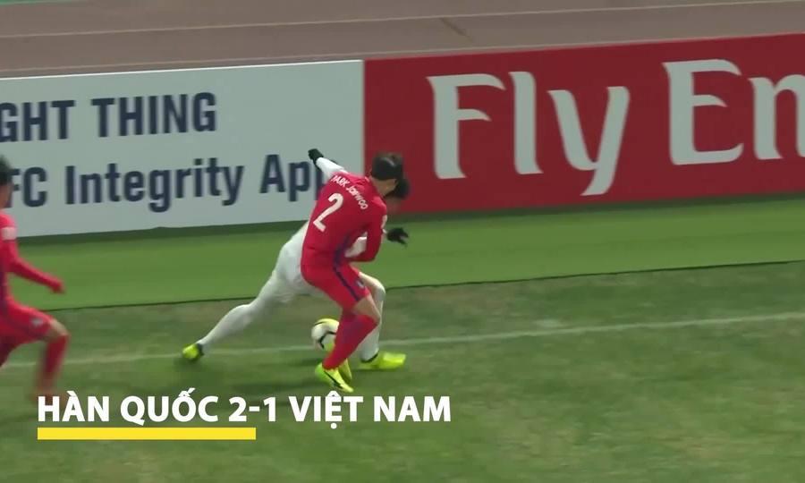 Chặng đường vào chung kết giải U23 châu Á của Việt Nam