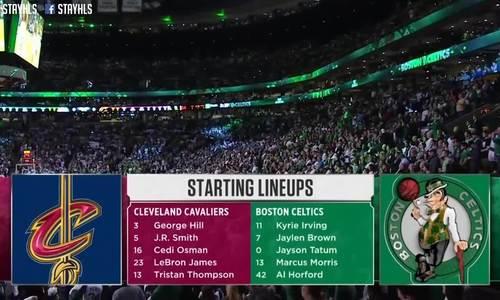 Cleveland Cavaliers - Boston Celtics