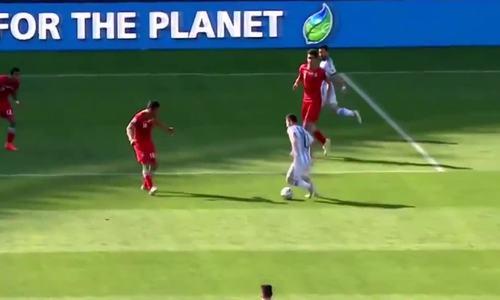 Messi sút xa, hạ Iran ở World Cup 2014