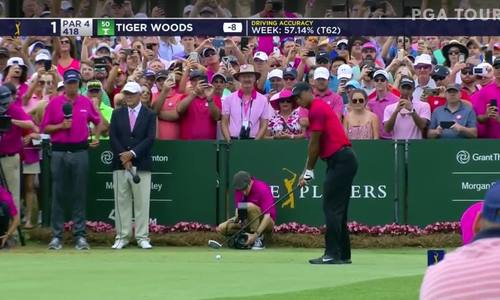 Tiger Woods vòng cuối The Players Championship: