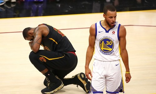 Cleveland Cavaliers vs Golden State Warriors (game 4)