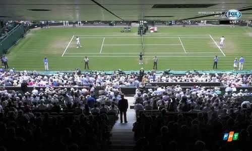 Roger Federer 3-0 Adrian Mannarino