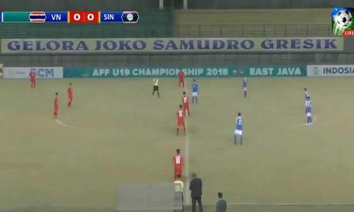 U19 Việt Nam 2-2 U19 Singapore