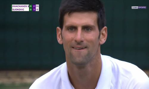 Karen Khachanov 0-3 Novak Djokovic