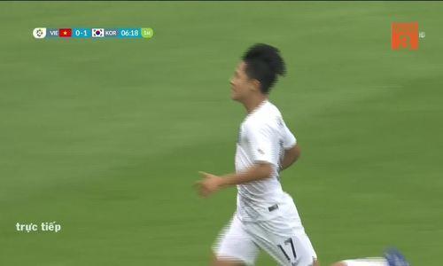 Tỷ số là 1-0 cho Hàn Quốc