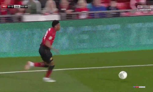 Man Utd 2-2 Derby County (pen 7-8)
