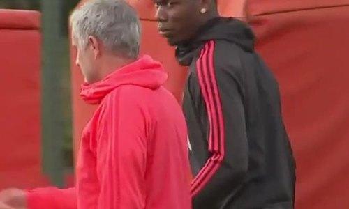 Pogba và Mourinho