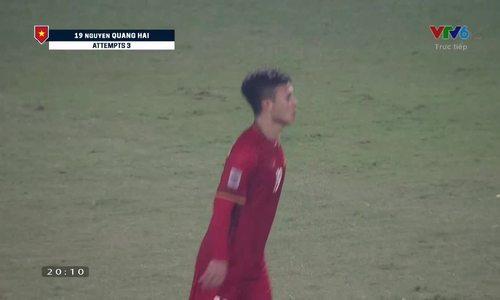 Quang Hải nâng tỷ số lên 2-0