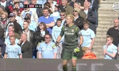 8 phút cuối khi Man City vô địch Ngoại hạng Anh 2012