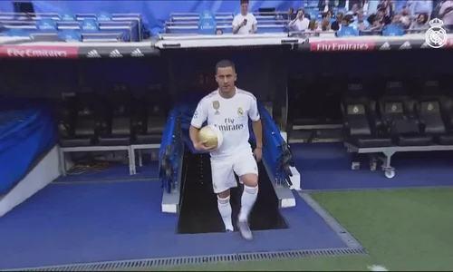 Eden Hazard ra mắt đội bóng Real Madrid