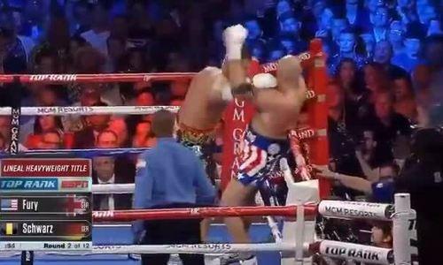 Tyson Fury vs Tom Schwarz 2019