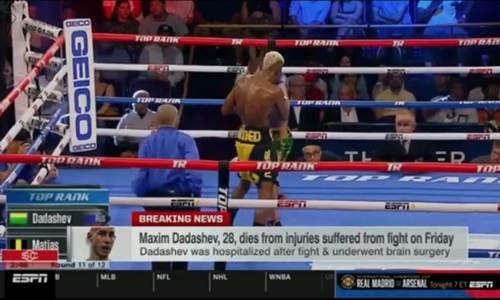 Võ sĩ boxing qua đời sau cú đấm của đối thủ
