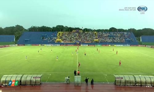 AFC Cup: Hà Nội FC đánh bại Bình Dương trong trận lượt đi vòng chung kết khu vực ASEAN