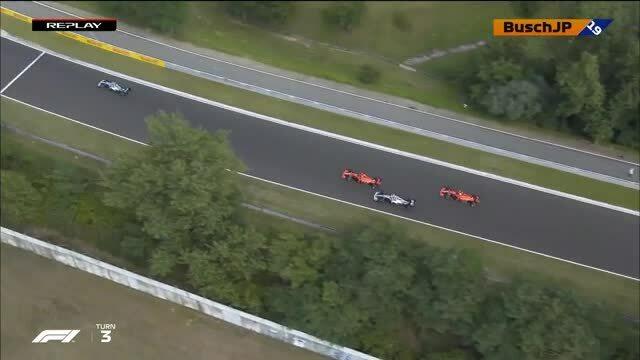 Bottas va chạm Leclerc ở GP Hungary
