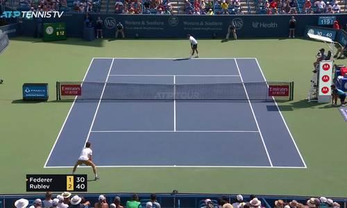 Federer thua nhanh ở vòng ba Cincinnati Masters 2019 - ảnh 2