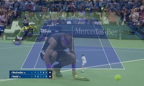 Rafa Nadal 3-2 Daniil Medvedev