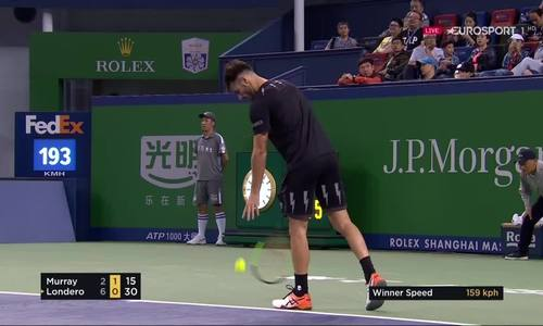 Andy Murray 2-1 Juan Ignacio Londero