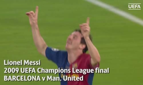 Messi thích nhất bàn ghi vào lưới Man Utd