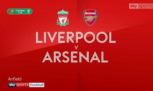 Liverpool 5-5 Arsenal (pen 5-4)