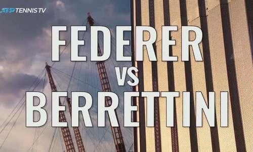 Roger Federer 2-0 Matteo Berrettini