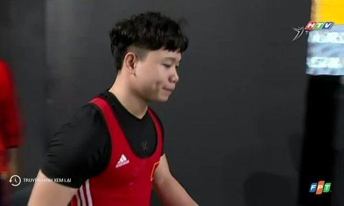 Đinh Xuân Hoàng giành HC bạc nội dung nam 67 kg