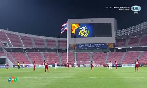 U23 Việt Nam 1-2 U23 Triều Tiên