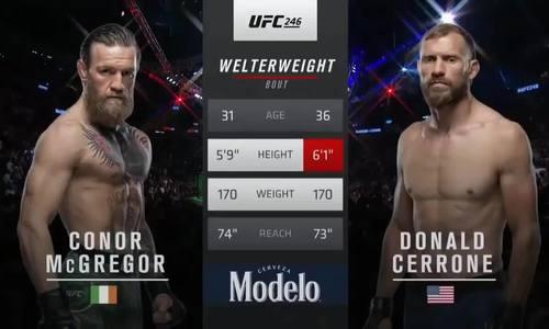 McGregor thắng Cerrone 40 giây