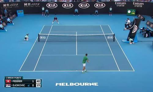 Roger Federer 0-3 Novak Djokovic