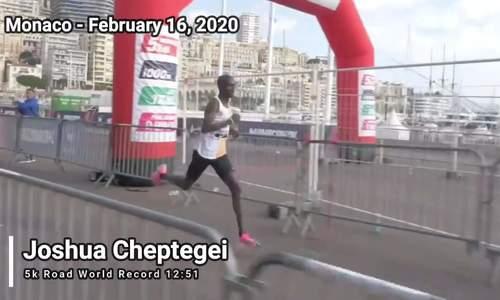 Cheptegei lập kỷ lục thế giới chạy 5km