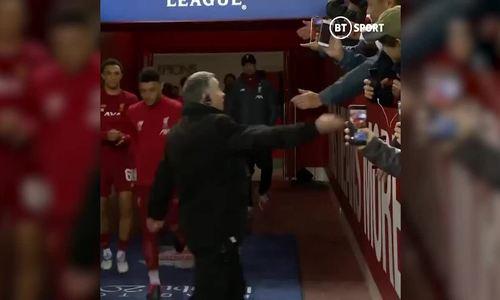 Diego Simeone - Jurgen Klopp's từ chối bắt tay
