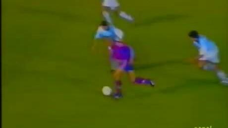 Ronaldo goal Barca vs Compostela
