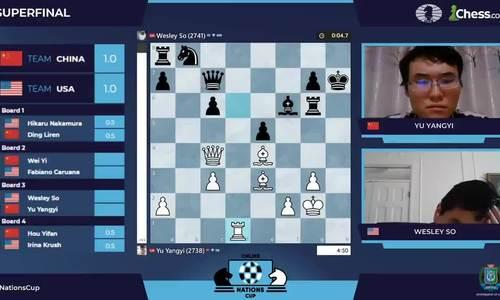Trung Quốc vô địch giải cờ vua liên lục địa