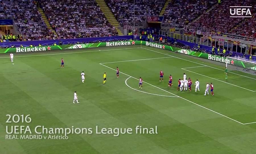 Pha ghi bàn của Sergio Ramos tại chung kết Champions League 2016