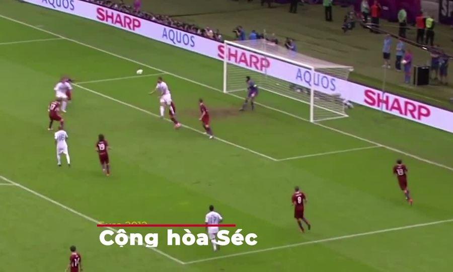 Những pha ghi bàn của Cristiano cho Bồ Đào Nha
