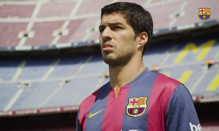 Barca làm video tri ân Luis Suarez