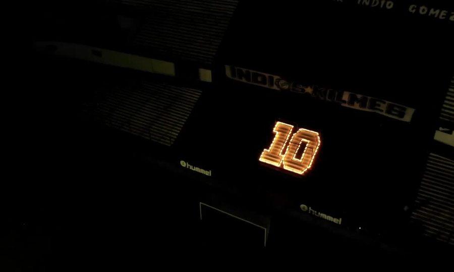 Những ngon lến thắp sáng hình số 10 áo của Maradona