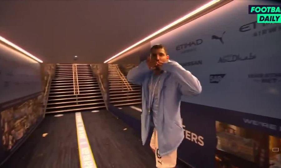 Aguero rời sân Etihad lần cuối